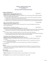Resume Profile Examples For Rn Lovely Chicago Template Reference Elegant New Nurse Awesome