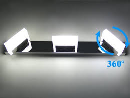 letsun led vanity light 3 lights bathroom light led wall light
