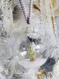 Plastic Wrap Your Christmas Tree by Homemade Christmas Ornaments Hgtv
