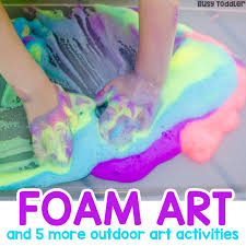Easy Outdoor Art Ideas For Kids
