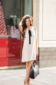 Morning Lavender Cute Bow Dresses For Women