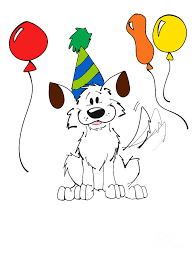 Cartooning Drawing Happy Birthday by Rachel Barrett