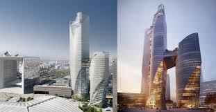 unibail rodamco siege social unibail rodamco dévoile les tours pour remplacer la tour