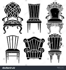 Vintage Furniture Set Chair Armchair Throne Stock Vector 251708365 ... Chairs Slipper Chair Black And White Images Lounge Small Arm Cartoon Cliparts Free Download Clip Art 3d White Armchair Cgtrader Banjooli Black And Moroso Flooring Nuloom Rugs On Dark Pergo With Beige Modern Accent Chairs For Your Living Room Wide Selection Eker Armchair Ikea Damask Lifestylebargain Pong Isunda Gray Living Room Chaises Leather Arhaus Vintage Fniture Set Throne Stock Vector 251708365 Home Decators Collection Zoey Script Polyester