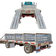 Modular Ramp Kit With Load Levelers For Trailers With 26