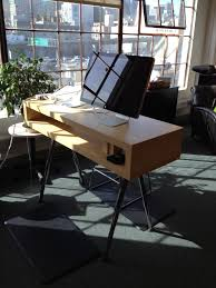 Ikea Computer Desk Hack by Ikea Standing Desk Hack Adjustable House Stuff Pinterest