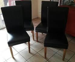 4 esszimmerstühle schwarz tom stuhl dänisches bettenlager