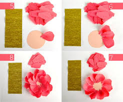 Diy Crepe Paper Flowers Oh My Handmade How
