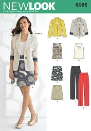 6035 misses u0027 separates misses u0027 top skirt pants and jacket new