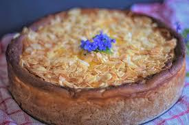 kuchen käsekuchen backen gebäck teig süße mandeln