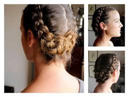 Braided Hairstyle Vintage Style