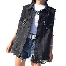 popular sleeveless jean jackets buy cheap sleeveless jean jackets