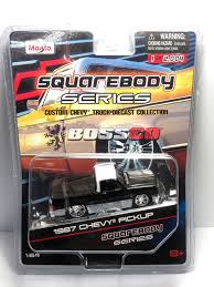 100 1987 Chevy Truck Great Maisto BossCo SQUAREBODY SERIES 1500 Silverado 87