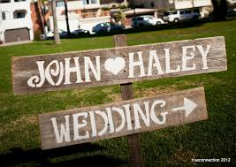 Handmade Wedding Signs From Etsy Personalized Ideas Rustic Wood 2