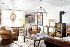Industrial Country Living Room