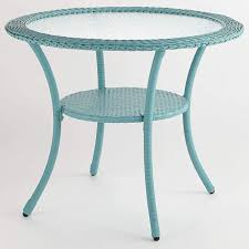 BrylaneHome Roma All-Weather Resin Wicker Bistro Table, Haze 2019 Bistro Ding Chair Pe Plastic Woven Rattan 3 Piece Wicker Patio Set In Outdoor Garden Grey Fix Chairs Conservatory Clearance Small Indoor Simple White Cafe Charming Round Green Garden Table Luxury Resin China Giantex 3pcs Fniture Storage W Cushion New Outdo D 3piece For Balcony And Pub Alinum Frame Dark Brown Restaurant Astonishing Modern Design Long Dwtzusnl Sl Stupendous Metalatio Fabulous Home Tms For 4