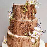 Rustic Log Wedding Cake 14 Cakes