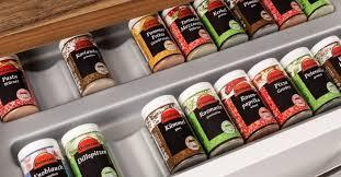 gewürzeinsätze bringen ordnung in die küche schubladen