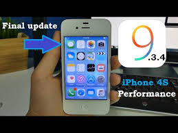 iPhone 4S iOS 9 3 4 Performance Final Update