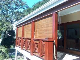 Roll Up Patio Shades by Amazing Bamboo Patio Blinds Patio Remodel Inspiration Outdoor