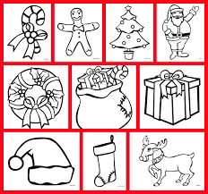 Free Christmas Coloring Pages Featuring 10 Characters And Items