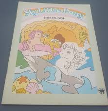 My Little Pony G1 Dot To Book 1985 RARE
