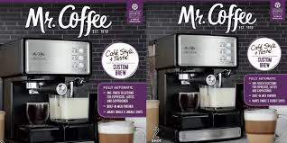 Mr Coffee Automatic Espresso Machine For Just 119 50 Shipped