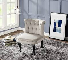 siege crapaud fauteuil crapaud tissu beige fauteuils but