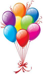 Birthday balloons free happy birthday balloon clipart clipartfest