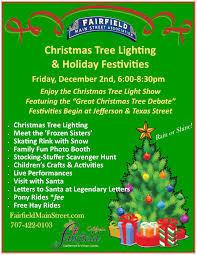 Christmas Tree Shop Flyer by Event Calendar Fairfield Main Street Association