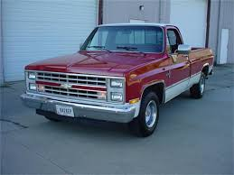 100 1986 Chevy Trucks For Sale Chevrolet Silverado For ClassicCarscom CC1034220