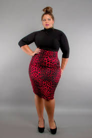 plus size models in pencil skirts and knee high boots google