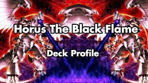 horus the black flame dragon deck december 2016 youtube