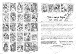 PDF Enchanted Halloween Coloring Book INSTANT DOWNLOAD