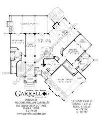 Craftsman Style Floor Plans by Cedar Creek Cottage House Plan House Plans By Garrell Associates