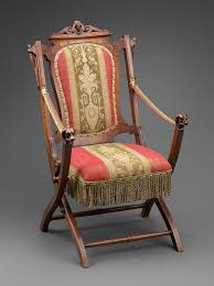 100 Folding Chairs With Arm Rests Chair Renaissance Revival Museum Of Fine Arts Boston