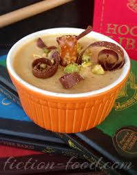 Pumpkin Juice Harry Potter Recipe by Fiction Food Café Pumpkin Caramel Pot De Crème For Harry Potter