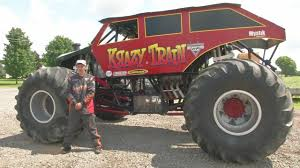 100 Stevens Truck Driving School Youngest Fullsize Monster Truck Driver In The World Lives In WNY