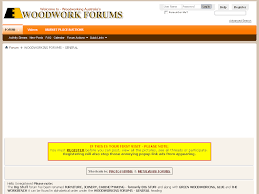 woodworking forums general