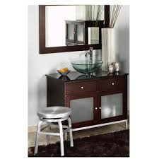Home Decorators Collection Vanity by Home Decorators Collection Melanie 18 In Brushed Aluminum Swivel
