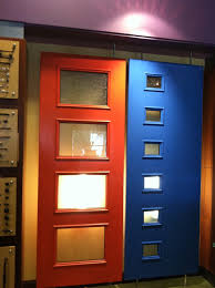 Therma Tru Entry Doors by Colorful Therma Tru Pulse Doors Complement Various Home Styles