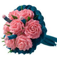 Create A Valentines Day Tissue Paper Flower Bouquet