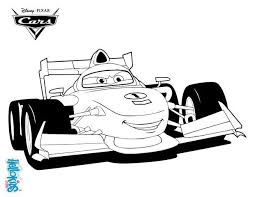 Discover This Amazing Coloring Page Of Cars 2 Here Francesco Bernoulli A Disney PagesFlash McqueenMc