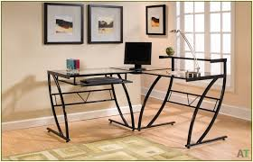 review z line galaxy glass computer desk youtube within z line