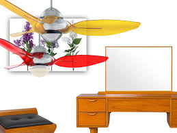 Retractable Blade Ceiling Fan Singapore by Color Fans Decor Fan Singapore