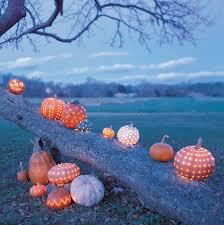 Drilled Jack O Lantern Patterns by Celestial Pumpkins Martha Stewart