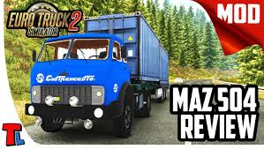Russian Steel! | 4K 60 Fps | Euro Truck Simulator 2 Best Mods | Maz ...