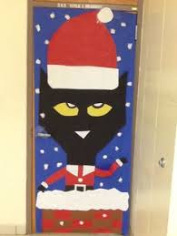 Christmas Classroom Door Decorations Elf by Pete The Cat Saves Christmas