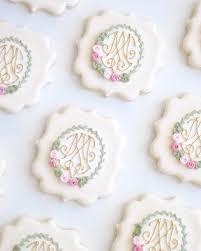 166 best monogram cookies images on Pinterest