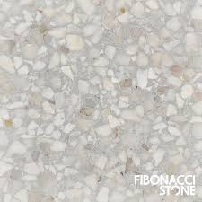Shell Stone Tile Manufacturers by Fibonacci Stone U0027s Unique Dove Grey Terrazzo Tiles Are Charaterised